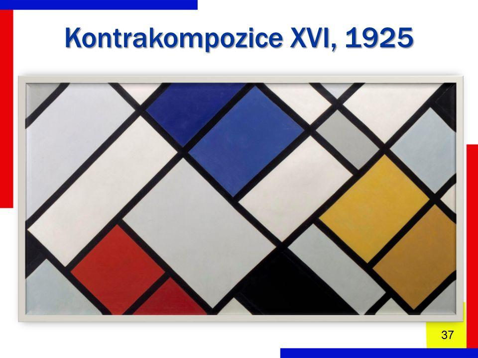 Kontrakompozice XVI, 1925 37