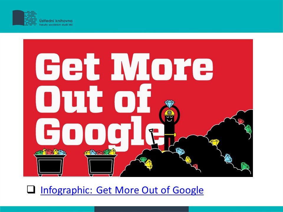  Infographic: Get More Out of Google Infographic: Get More Out of Google