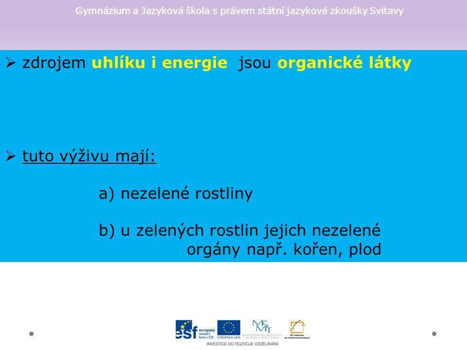 Gymnázium a Jazyková škola s právem státní jazykové zkoušky Svitavy 1.BERNDH.