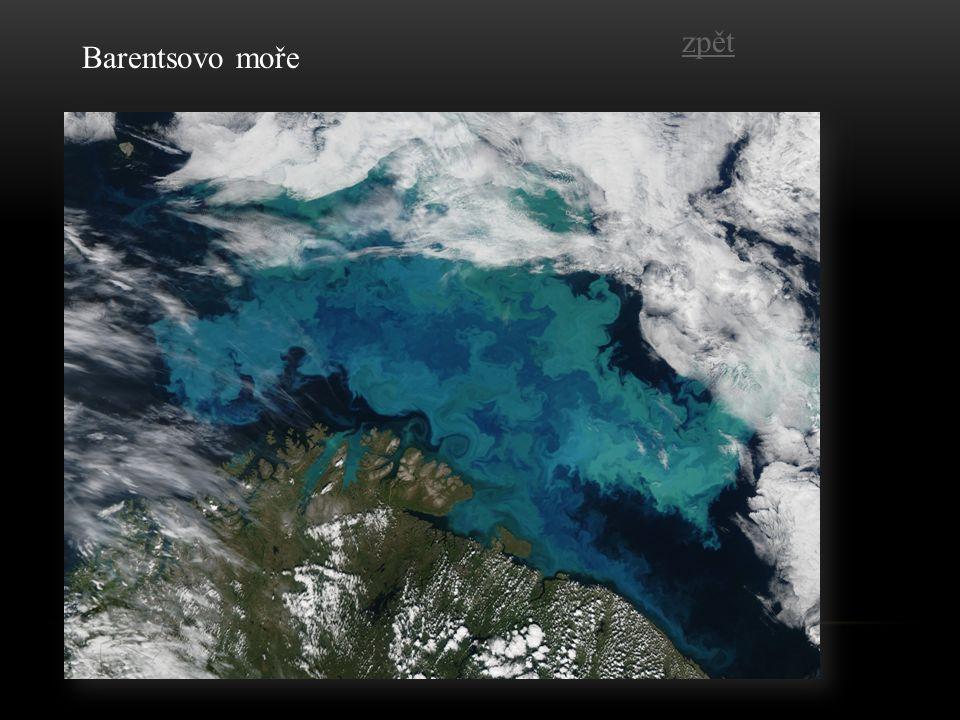 Barentsovo moře zpět
