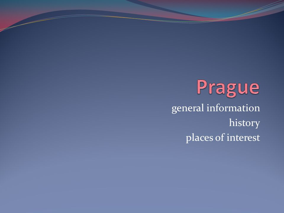 general information history places of interest