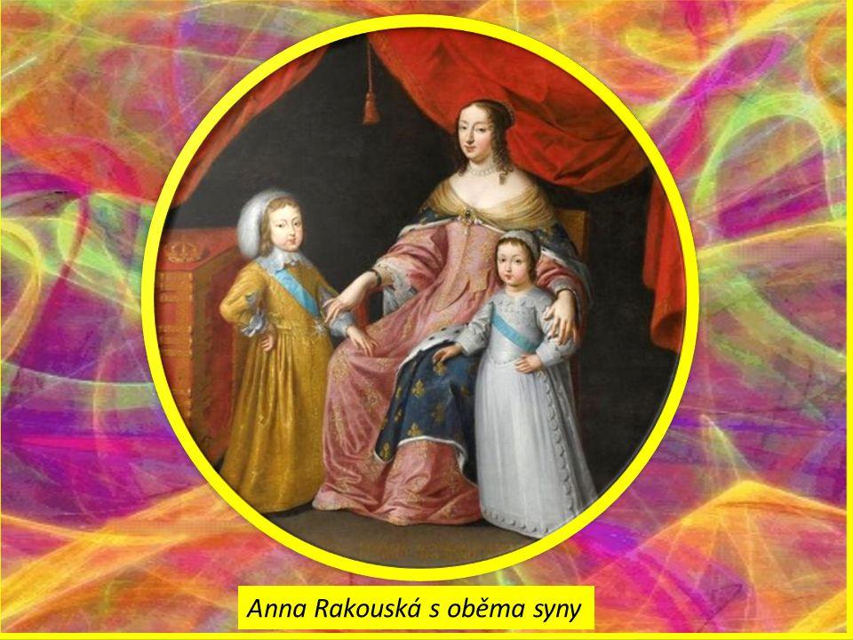 Anna Rakouská s oběma syny