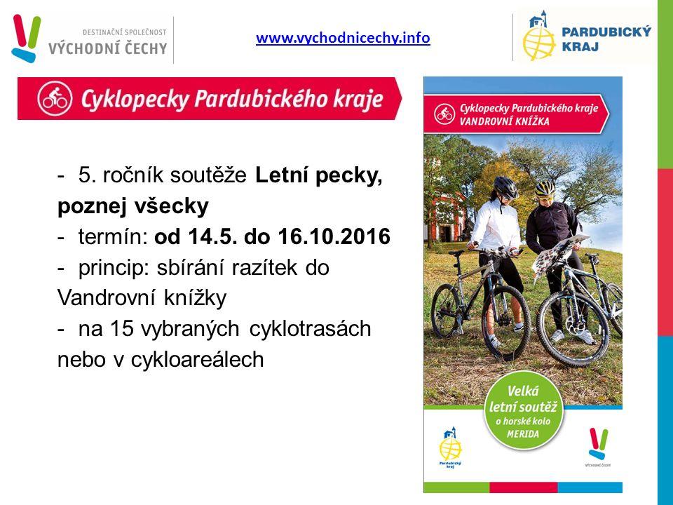 -5. ročník soutěže Letní pecky, poznej všecky -termín: od 14.5.