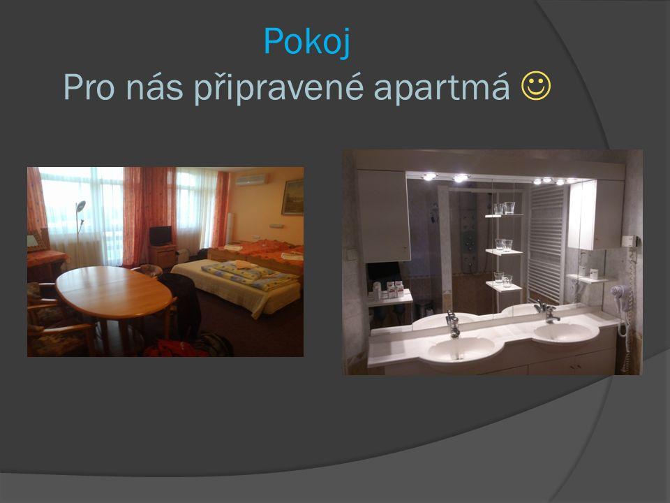 Pokoj Pro nás připravené apartmá
