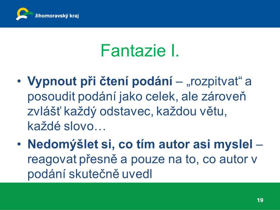 Fantazie I.