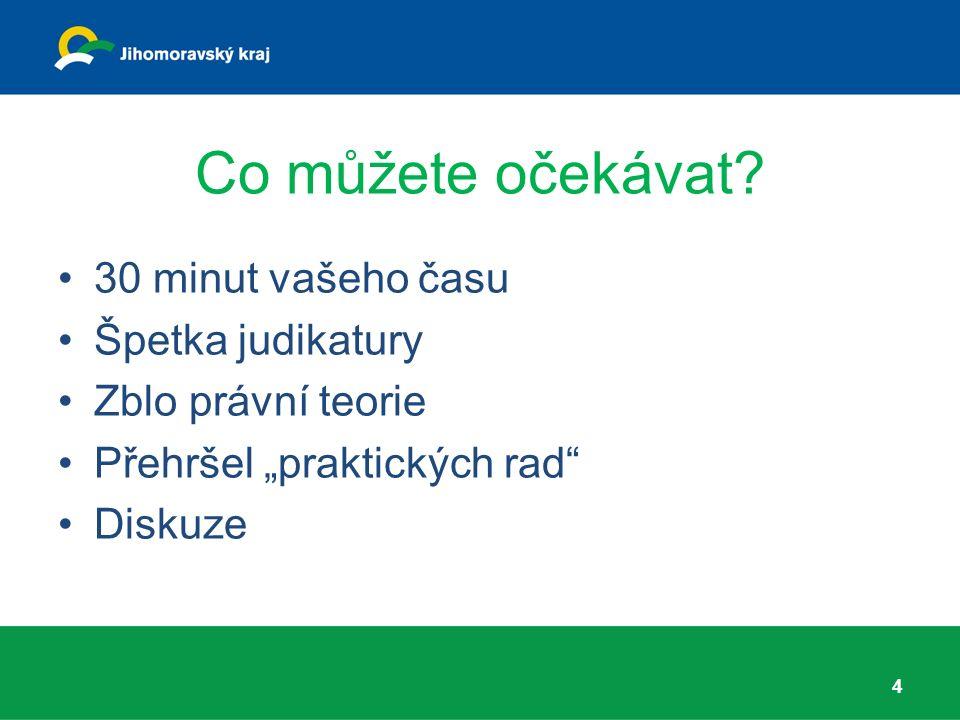Judikatura - námitky Rozsudek NSS č.j.