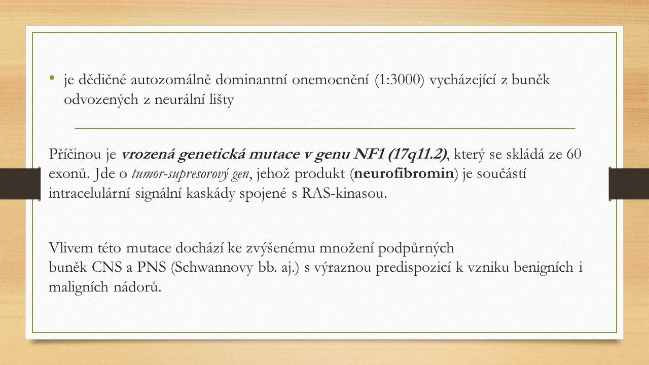 Klinické projevy: Tzv.