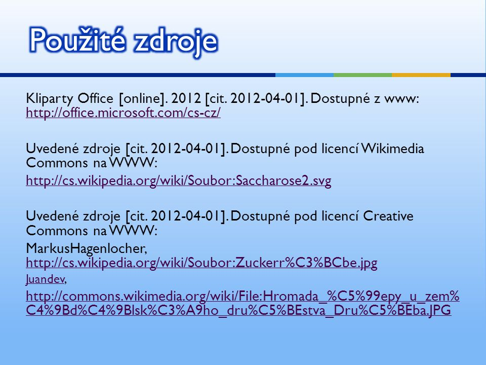 Kliparty Office [online]. 2012 [cit. 2012-04-01].