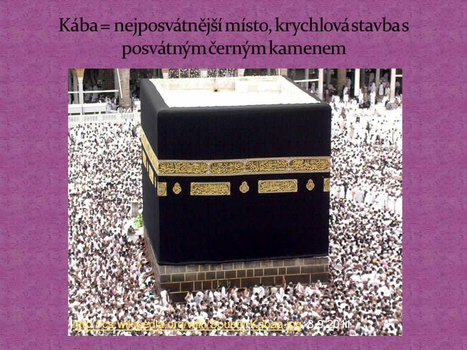 http://www.harekrsna.cz/cvs/2007/obrazek/mekka http://www.harekrsna.cz/cvs/2007/obrazek/mekka 8.9.2011 Každý rok putují během hadždže do Mekky tři milióny muslimů, nevěřícím je vstup do města zakázán.