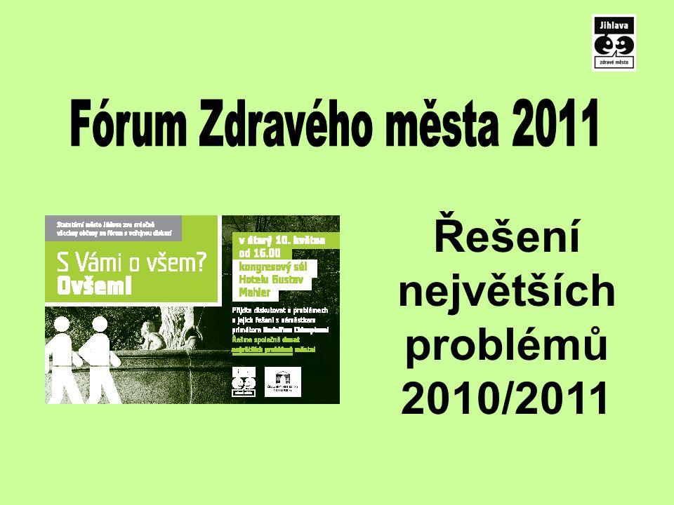 Řešení největších problémů 2010/2011