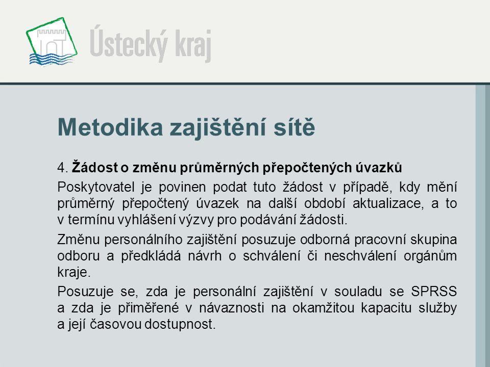 Metodika zajištění sítě 4.