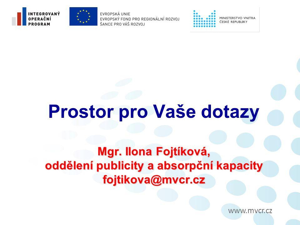 www.mvcr.cz Mgr.