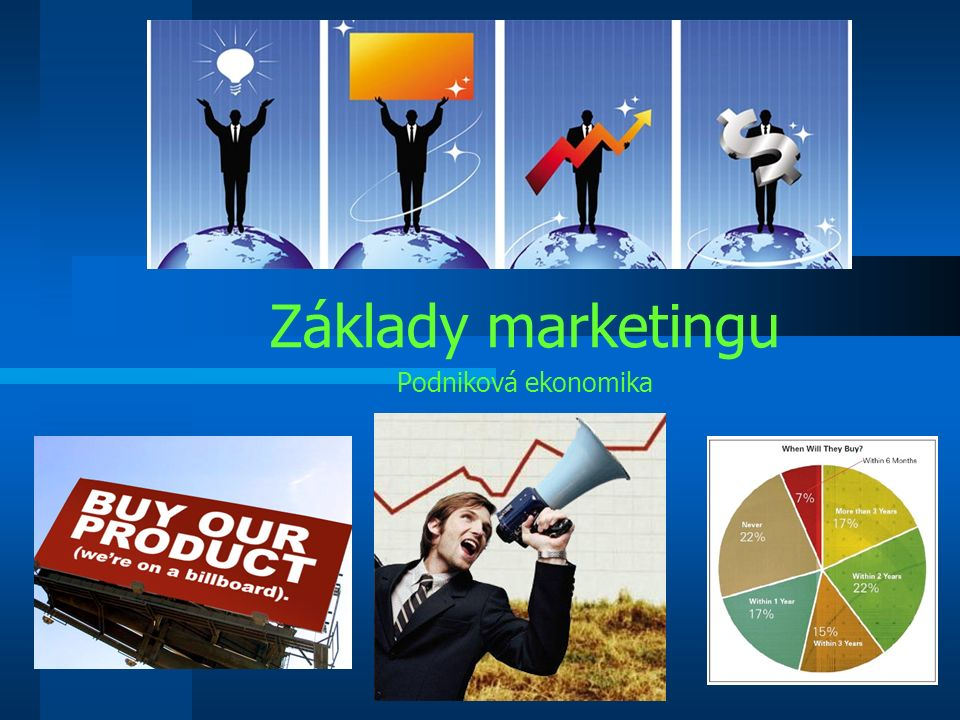 Základy marketingu Podniková ekonomika