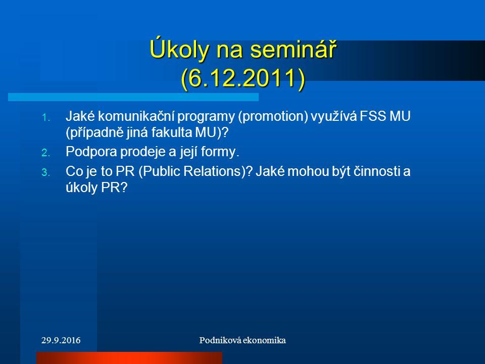 Úkoly na seminář (6.12.2011) 1.