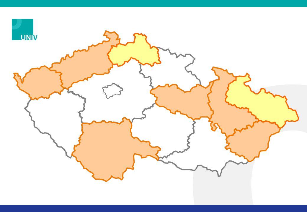 PROJEKT UNIV CÍL 1: Podpořit poskytování dalšího vzdělávání SŠ a VOŠ – sítě škol v 6 krajích ČR CÍL 2: Pilotně ověřit procesy uznávání výsledků neformálního vzdělávání a informálního učení (na úrovni ISCED 3C)