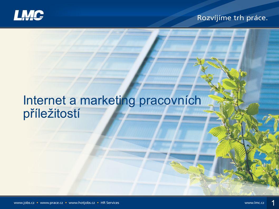1 Internet a marketing pracovních příležitostí