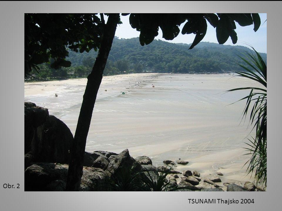 Obr. 3 TSUNAMI Thajsko 2004