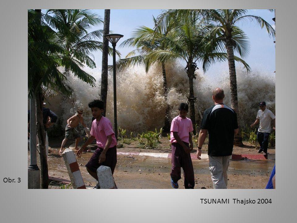 Obr. 4 Fáze vzniku tsunami