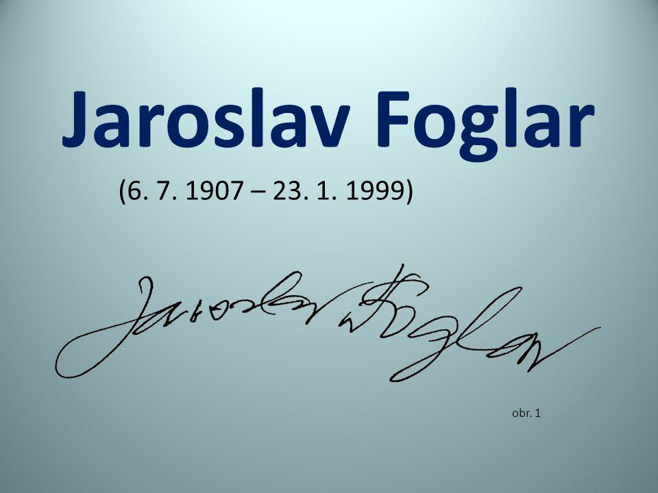Jaroslav Foglar obr. 1 (6. 7. 1907 – 23. 1. 1999)