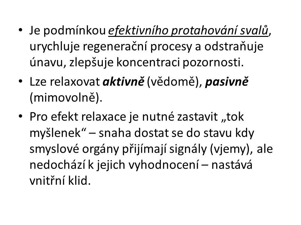Diferencované (částečná) relaxace Diferencovaná (částečná) relaxace znamená, že člověk uvolní určité části těla, zatímco jiné svalové skupiny pracují.