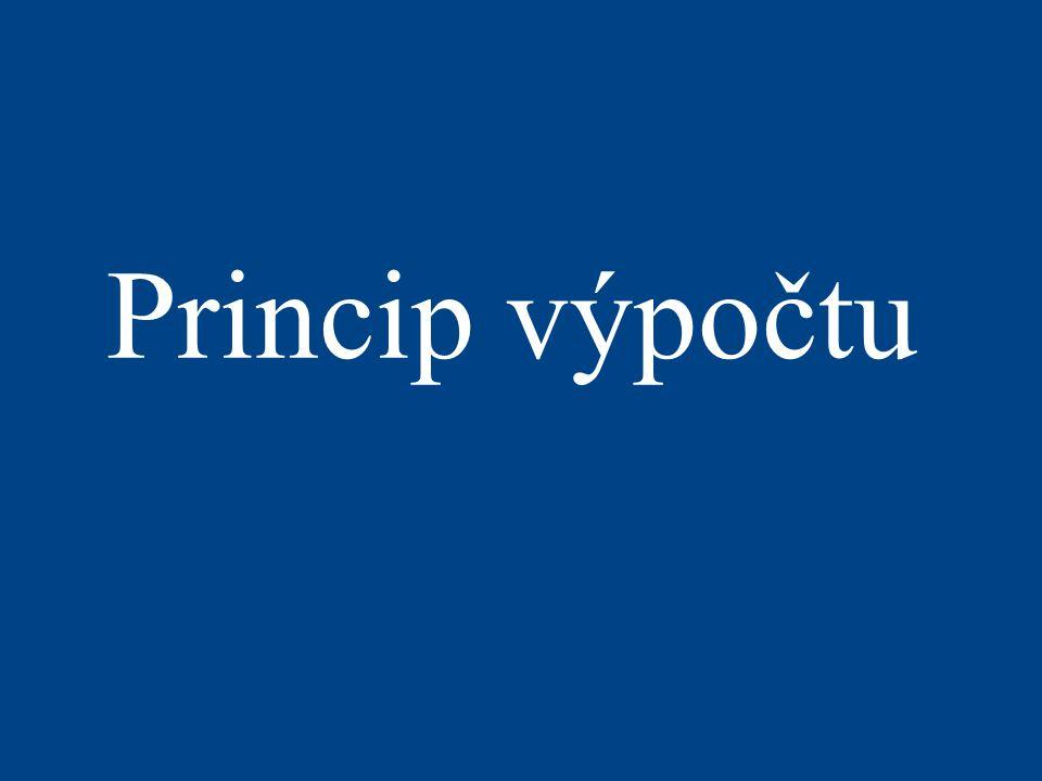 Princip výpočtu