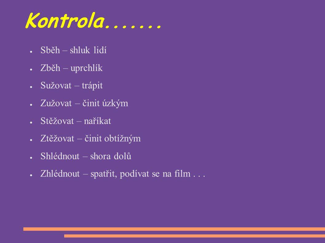 Kontrola.......