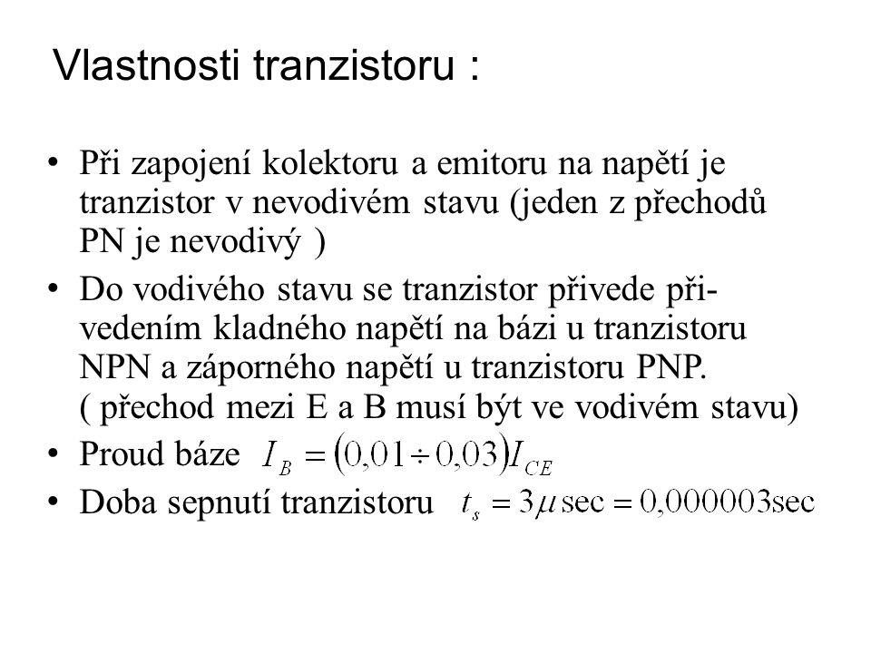 Objasnění funkce tranzistoru NPN (přirovnání kulhající samozřejmě za skutečností) Tranzistor v nevodivém stavuTranzistor ve vodivém stavu