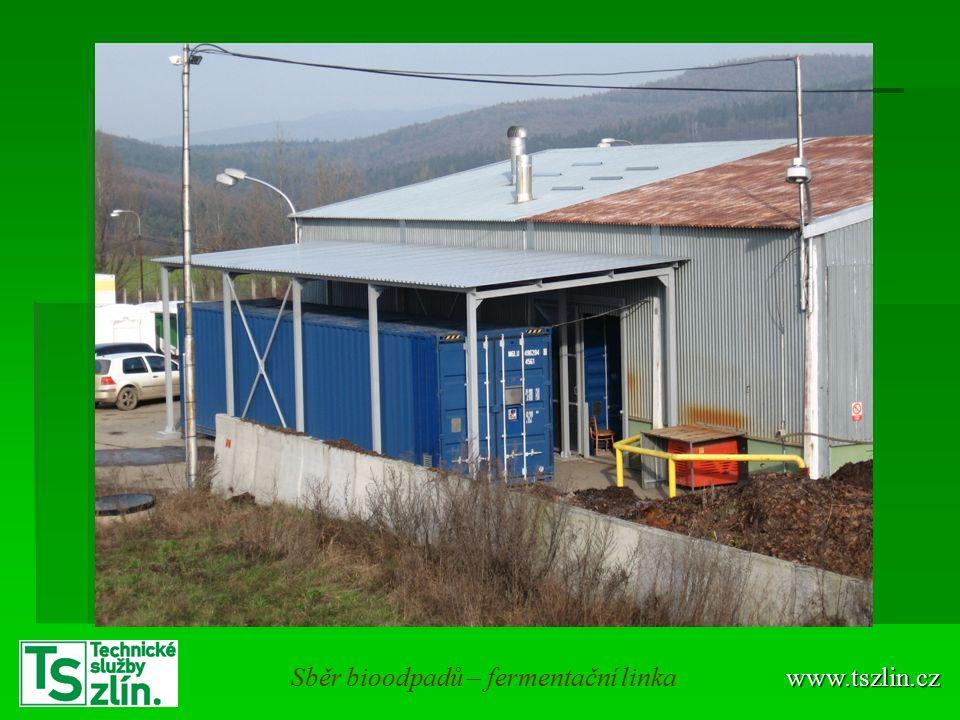 www.tszlin.czSběr bioodpadů – fermentační linka