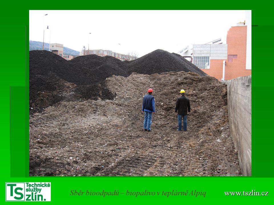www.tszlin.czSběr bioodpadů – biopalivo v teplárně Alpiq