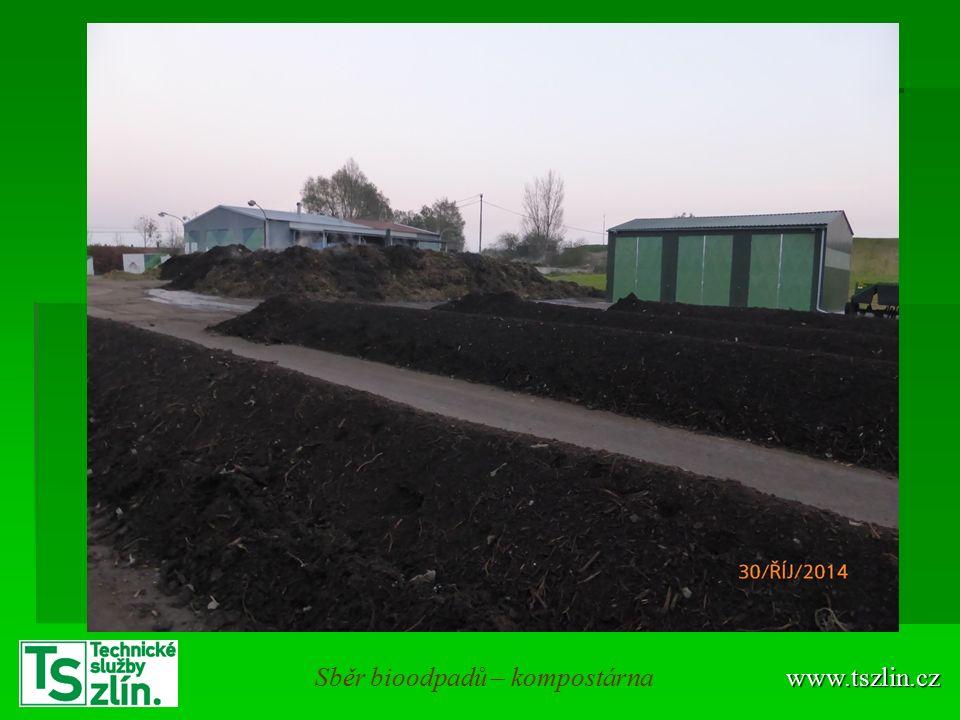www.tszlin.czSběr bioodpadů – kompostárna
