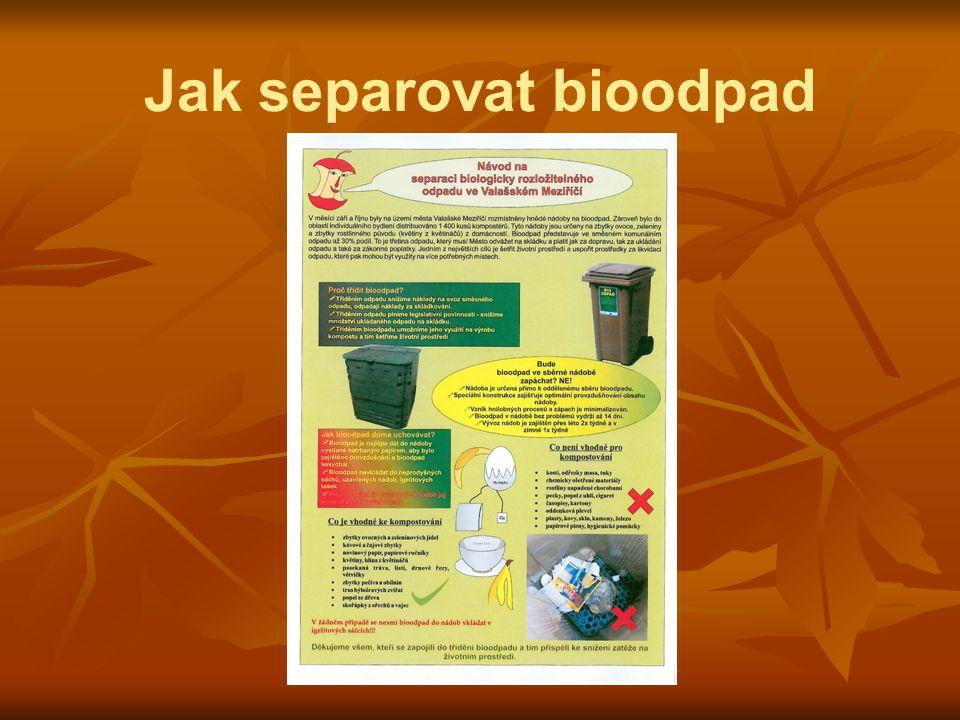 Jak separovat bioodpad