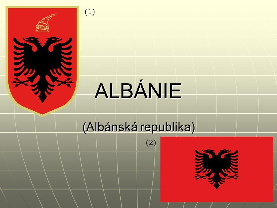 ALBÁNIE (Albánská republika) (1) (2)