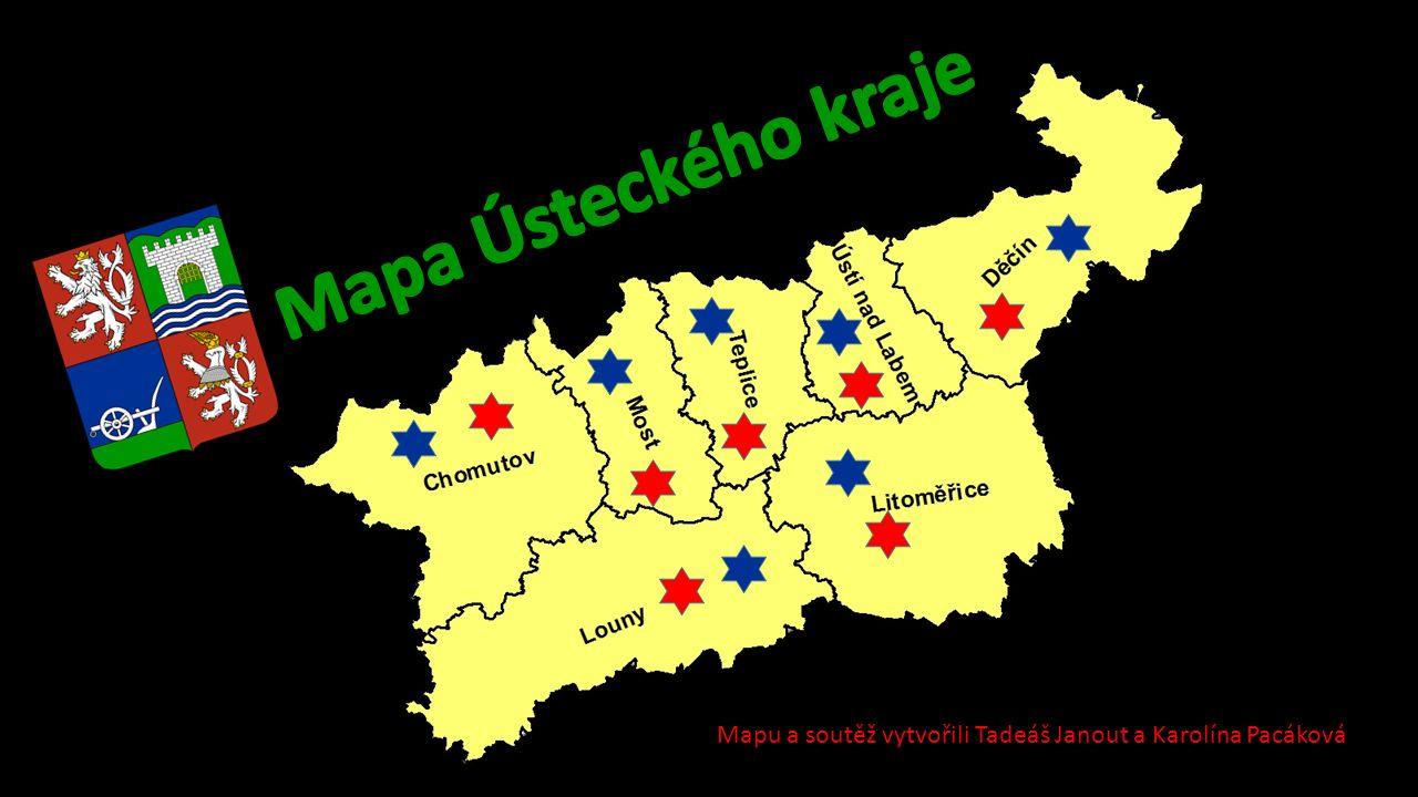 Mapu a soutěž vytvořili Tadeáš Janout a Karolína Pacáková
