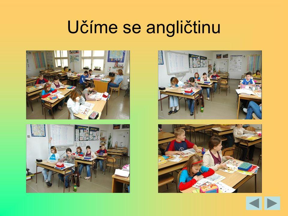 Učíme se angličtinu