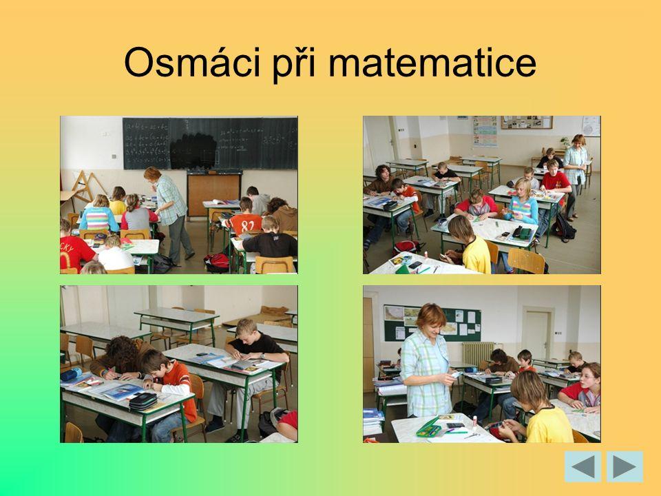Osmáci při matematice