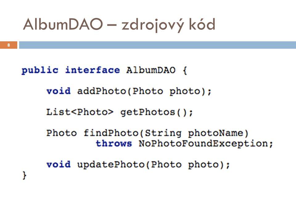 Domácí úkol  Upravte stránku upload.jsp tak, aby  poslední sloupec tabulky fotografií obsahoval zmenšenou verzi obrázku.