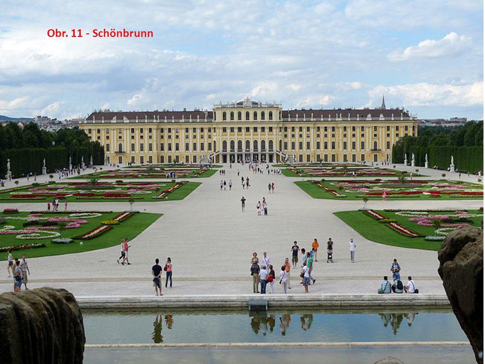 Obr. 11 - Schönbrunn