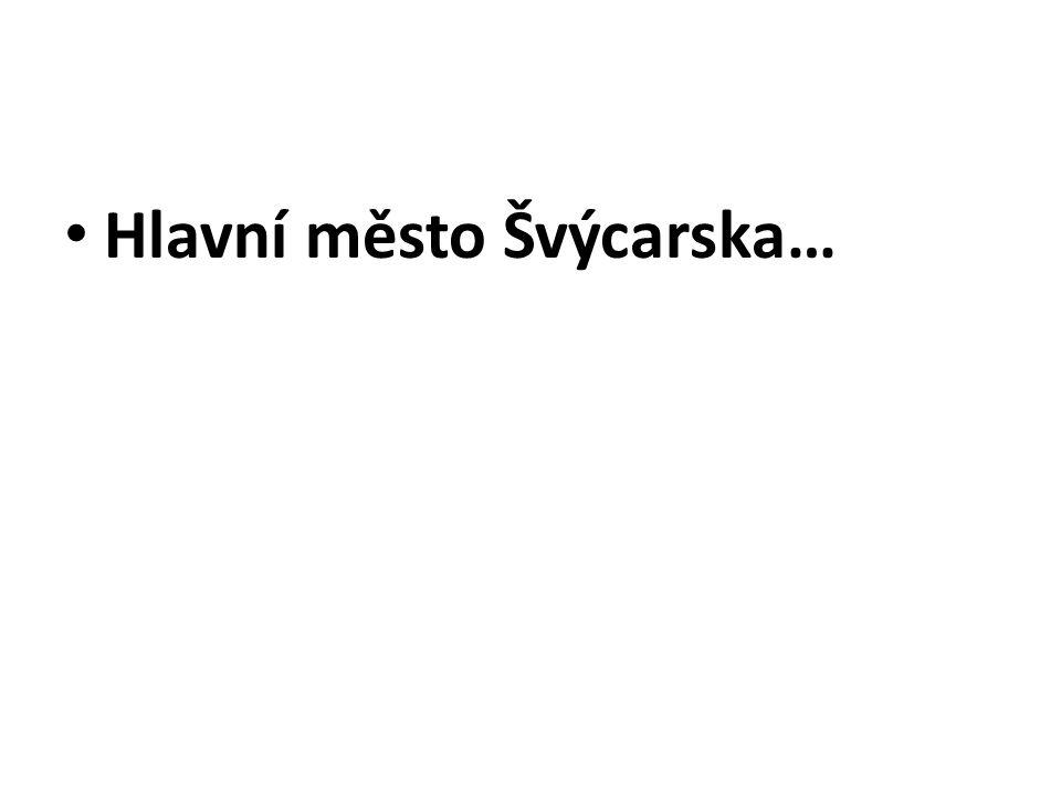 Hlavní město Slovinska…