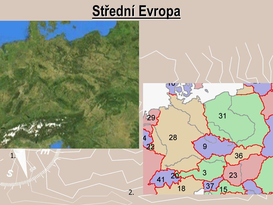 Střední Evropa 2. 1.