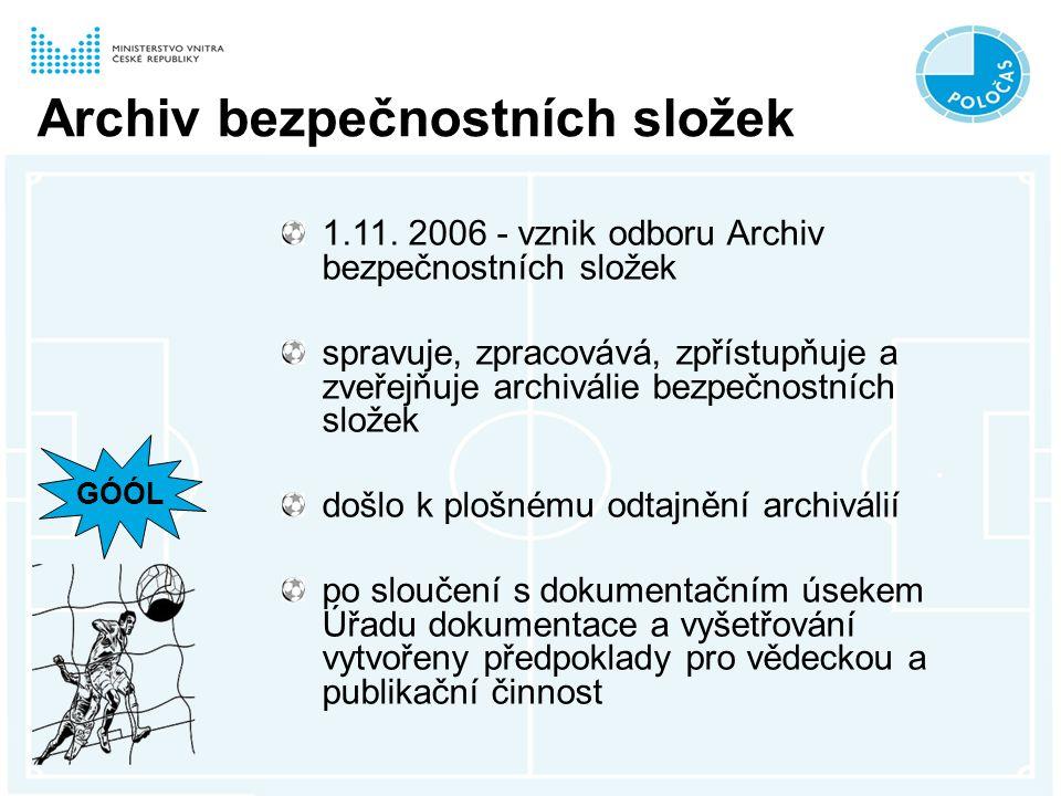 Archiv bezpečnostních složek 1.11.