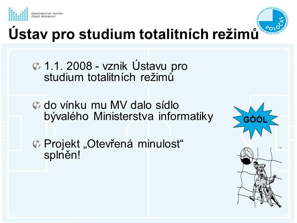 Ústav pro studium totalitních režimů 1.1.