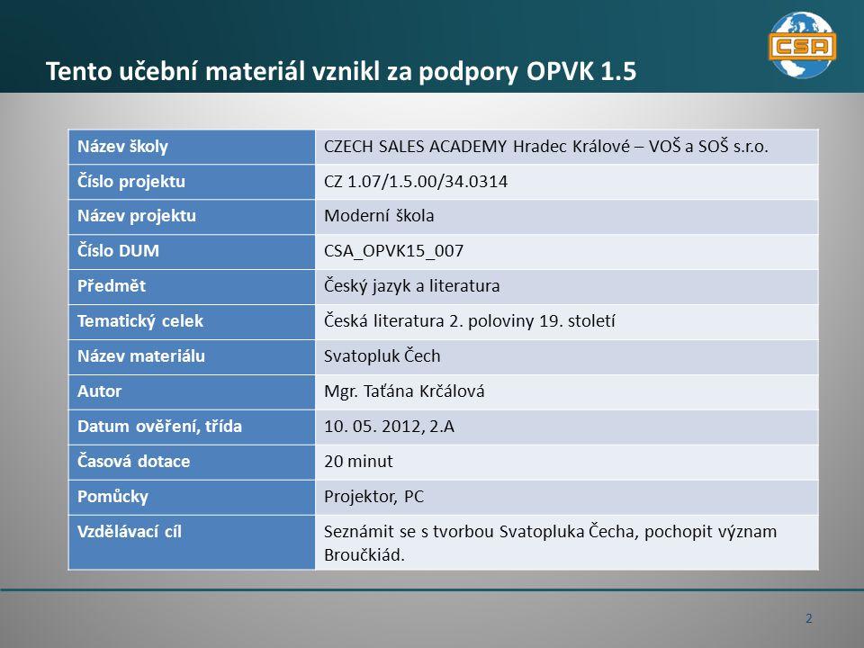 Otázky a úkoly k textu 1.Najít zastaralé výrazy, převést je do současné češtiny.