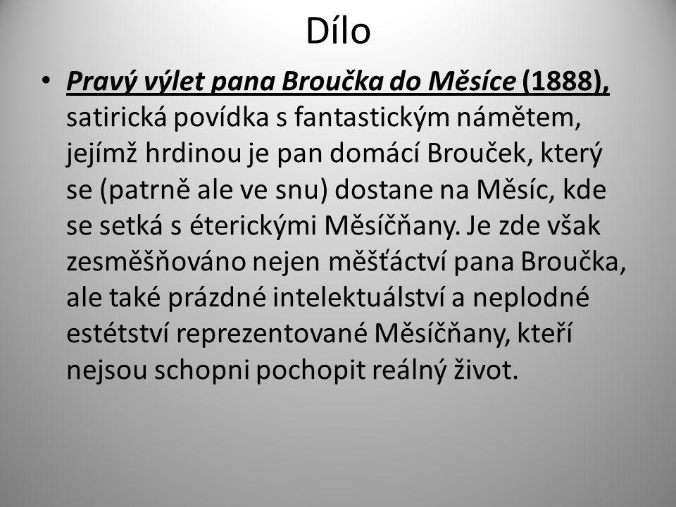 Dílo Nový epochální výlet pana Broučka, tentokráte do XV.