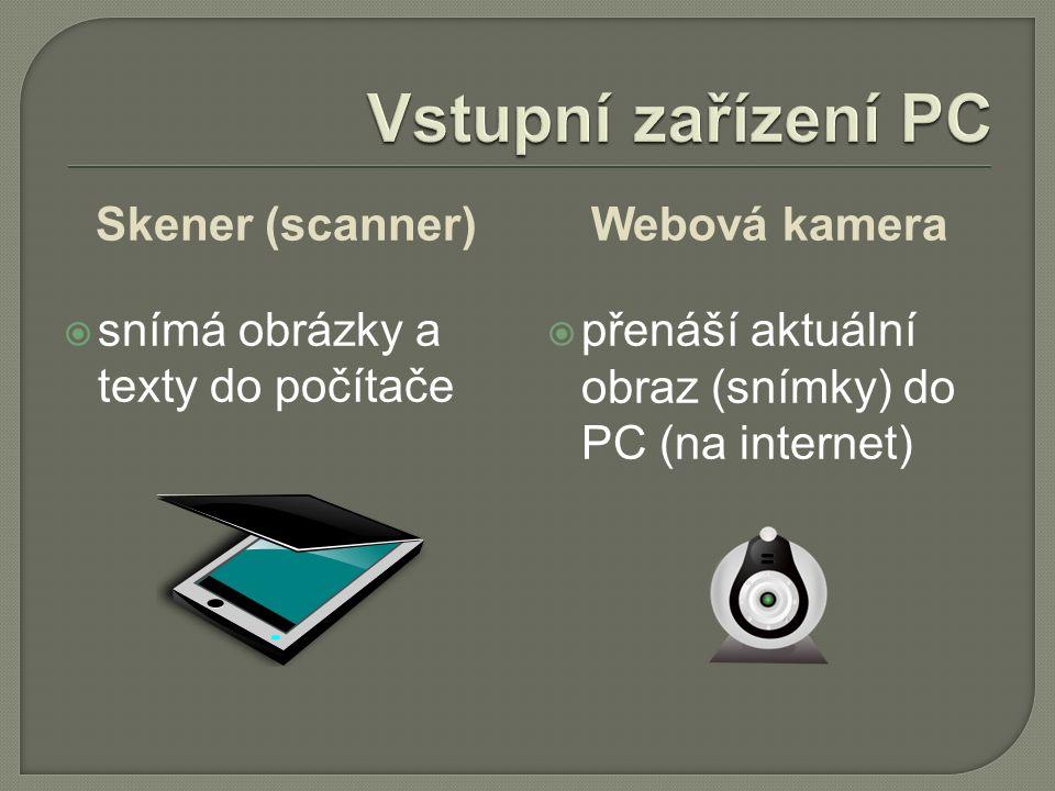 Videokamera  zachycuje obraz a zvuk, které lze přenést do PC Digitální fotoaparát  zaznamenává obraz, který lze nahrát do PC USB kabel paměťová karta