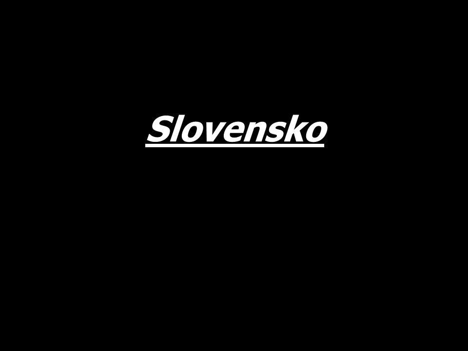 Základní informace Hlavní město – Bratislava Počet obyvatel – 5,5 milionů Státní zřízení – parlamentní republika Měna – Euro Úřední jazyk – slovenština Člen – EU, NATO V zemi žije početná maďarská a romská menšina