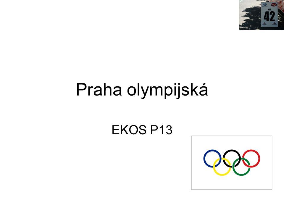 Praha olympijská EKOS P13