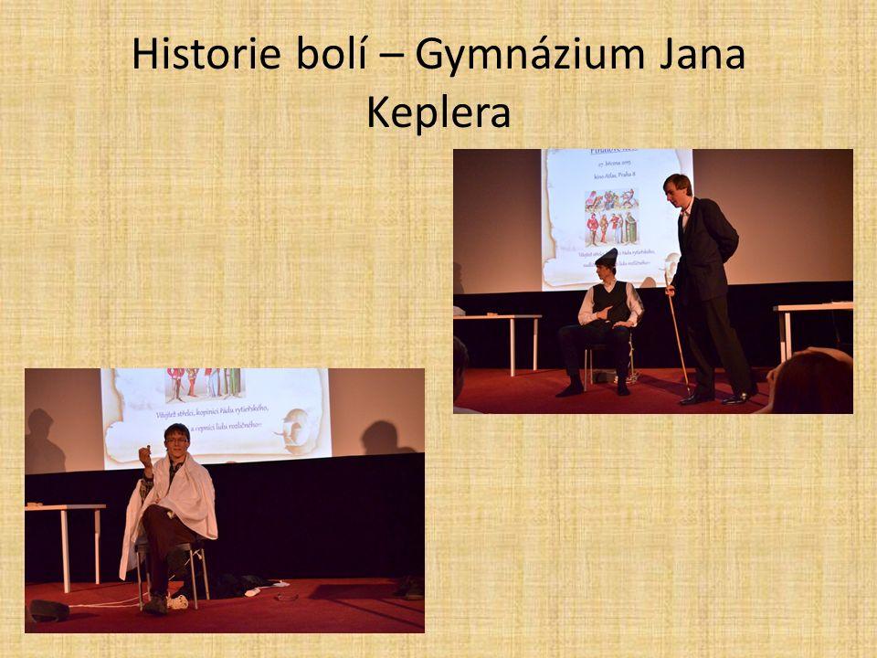 Historie bolí – Gymnázium Jana Keplera