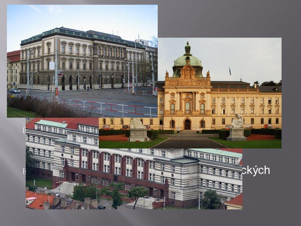  Praha je sídlem velké části státních institucí a množství dalších organizací a firem  Sídlí zde prezident republiky, parlament, vláda, ústřední stá