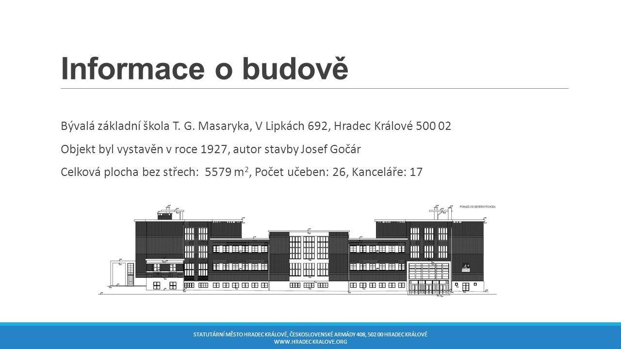 Informace o budově Bývalá základní škola T. G.
