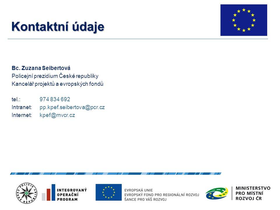 Kontaktní údaje Bc.